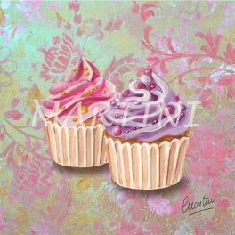 Reproduction tableau cupcake n°60 20x20