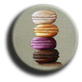 Aimant Macaron - rond 82