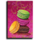 Aimant rectangulaire Macaron A