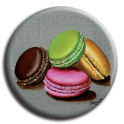 Aimant rond 2 - Macaron