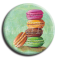 Aimant rond 3 - Macaron