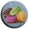 Aimant rond 30 - Macaron