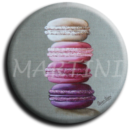 Aimant rond 31 - Macaron