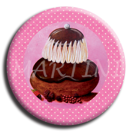 Aimant rond 9 - Religieuse