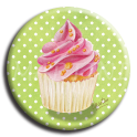 Aimant rond 22 - Cupcake