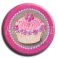 Aimant rond 25 - Cupcake