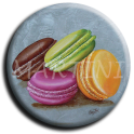 Aimant Macaron - rond 30