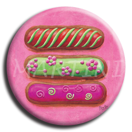 Badge rond 11 - Eclair