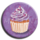 Badge rond 23 - Cupcake