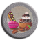 Badge rond 10 - Gourmandises