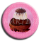 Badge rond 9 - Religieuse