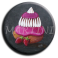 Badge rond 35 - Religieuse