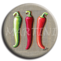 Badge rond 52 - Piments