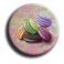 Aimant rond 60 - Macarons