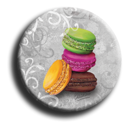 Aimant rond 64 - Macaron
