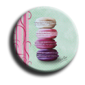 Aimant rond 62 - Macaron