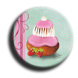 Badge rond 63 - Religieuse - 25mm