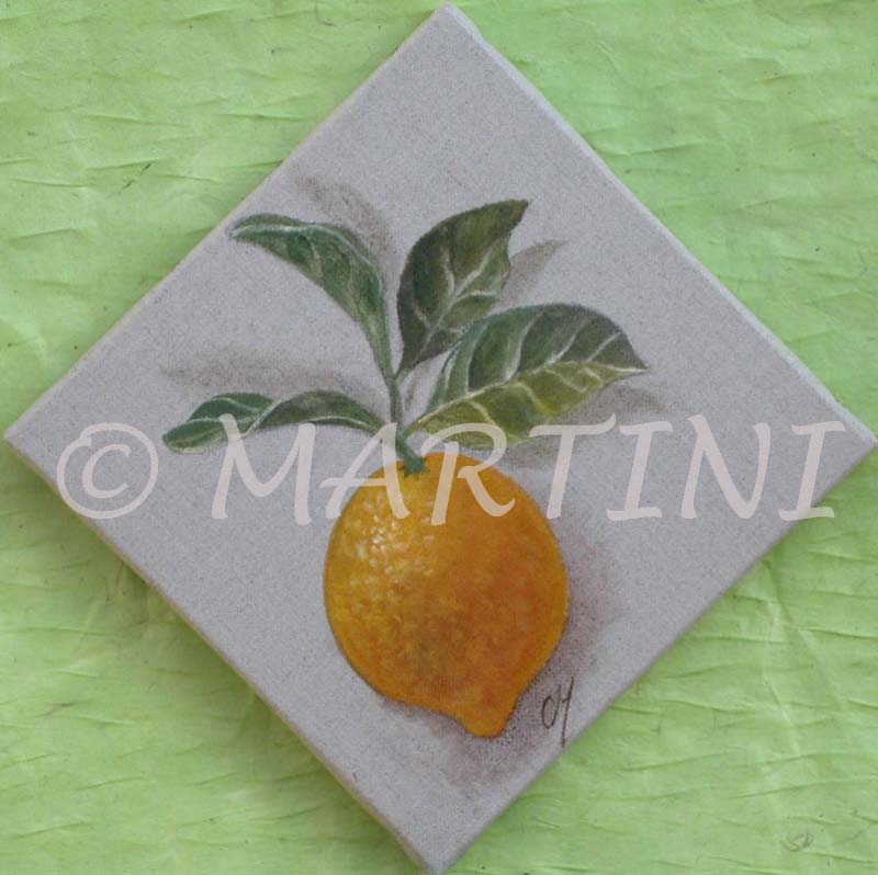 tableau peinture de fruits pommes poires orange citron raisin. Black Bedroom Furniture Sets. Home Design Ideas